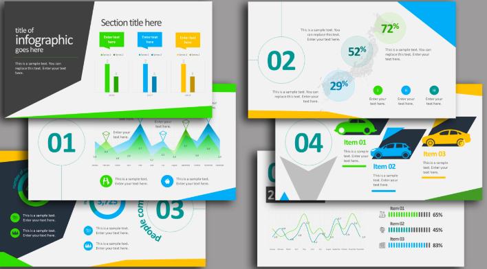 графики в презентациях